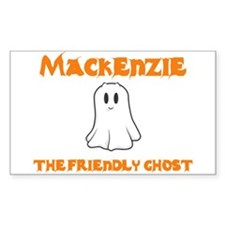 Mackenzie The Friendly Ghost Rectangle Decal