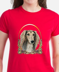 Saluki Dog Christmas Tee