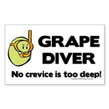 Grape Rectangle Decal
