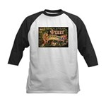 Merry Christmas Kids Baseball Jersey