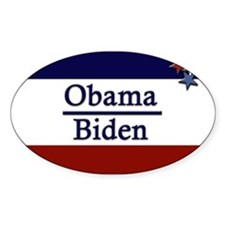 Obama Biden Oval Decal