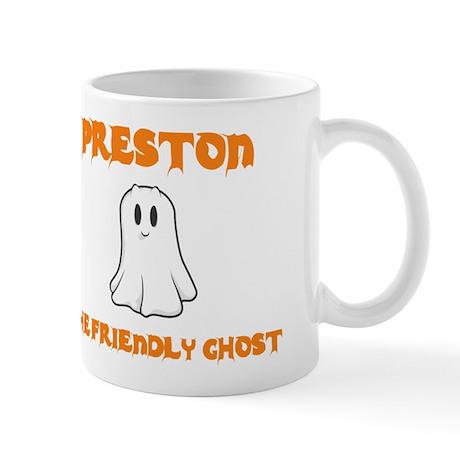 Preston The Friendly Ghost Mug