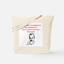 men's joke Tote Bag