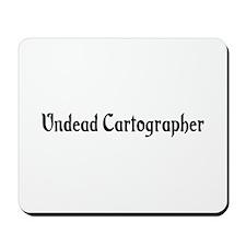 Undead Cartographer Mousepad