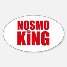 NOSMO KING - Oval Decal