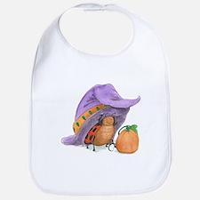 Ladybug's Witchy Hat Bib