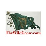 Irish Harp Flag - Rectangle Magnet (10 pack)