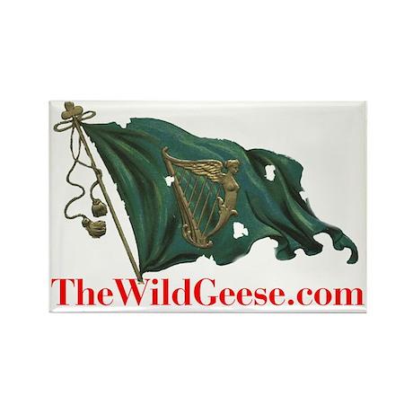 Irish Harp Flag - Rectangle Magnet (10 pack)