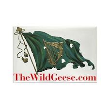 rish Harp Flag - Rectangle Magnet
