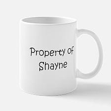 Unique Shayne name Mug