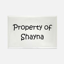 Cool Shayna Rectangle Magnet