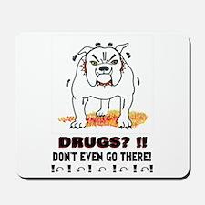 BullDog With Attitude Mousepad