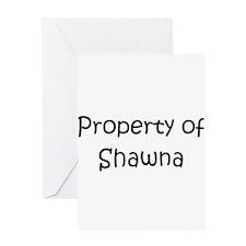 Funny Shawna Greeting Card