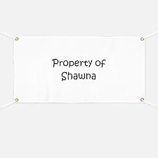 Funny Shawna Banner
