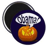Halloween Pumpkin for Obama Magnet