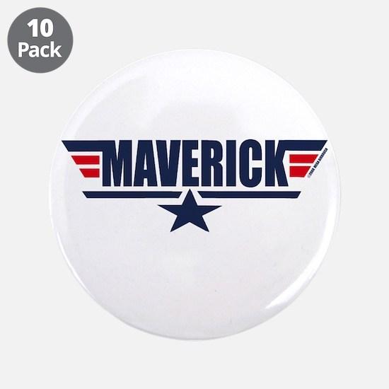 "Maverick 3.5"" Button (10 pack)"