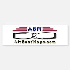 AirBoatMaps Bumper Bumper Bumper Sticker
