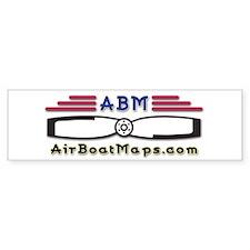 AirBoatMaps Bumper Bumper Sticker