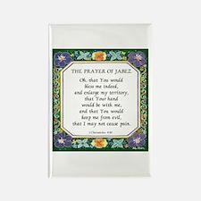 2 Prayers: Prayer of Jabez a Rectangle Magnet