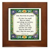 Prayer of jabez Framed Tiles