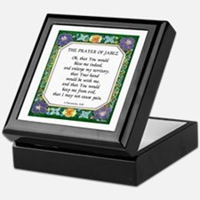 2 Prayers: Prayer of Jabez a Keepsake Box