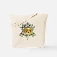 Navajo Livestock Police Tote Bag