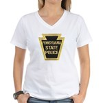 Penna. State Police Women's V-Neck T-Shirt