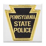 Penna. State Police Tile Coaster
