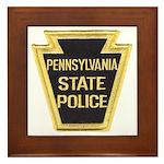 Penna. State Police Framed Tile