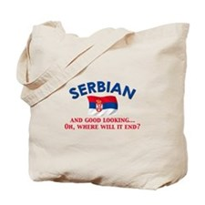 Good Lkg Serbian 2 Tote Bag