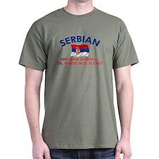 Good Lkg Serbian 2 T-Shirt