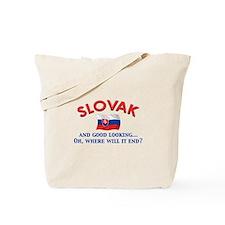 Good Lkg Slovak 2 Tote Bag