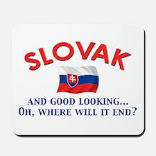 Good Lkg Slovak 2 Mousepad