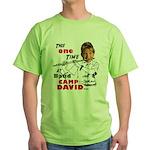 Sarah Palin Flute Green T-Shirt