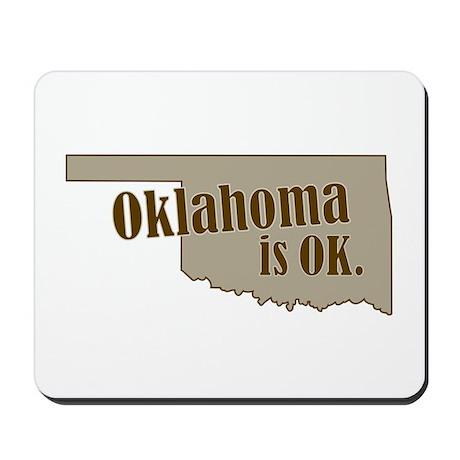 """""""Oklahoma"""" Mousepad"""