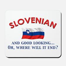 Good Lkg Slovenian 2 Mousepad