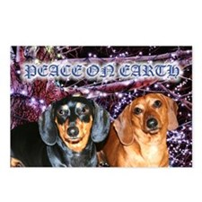 Peace On Earth Doxies Postcards (Package of 8)