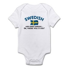 Good Lkg Swedish 2 Infant Bodysuit