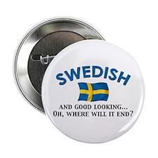 "Good Lkg Swedish 2 2.25"" Button (10 pack)"