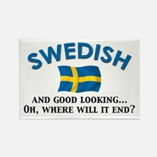 Good Lkg Swedish 2 Rectangle Magnet (10 pack)