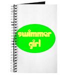 Swimmer Girl Journal