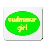 Swimmer Girl Mousepad