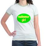 Swimmer Girl Jr. Ringer T-Shirt