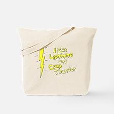 I Eat Lightning and Crap Thun Tote Bag
