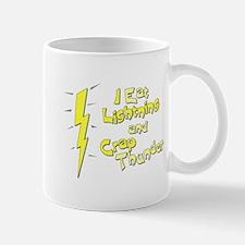 I Eat Lightning and Crap Thun Mug