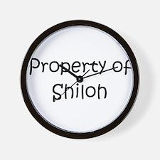 Cute Shilohs Wall Clock