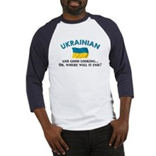 Good Lkg Ukrainian 2 Baseball Jersey