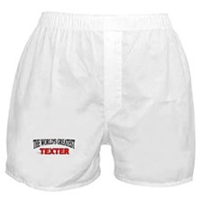 """The World's Greatest Texter"" Boxer Shorts"