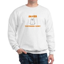 James The Friendly Ghost Sweatshirt