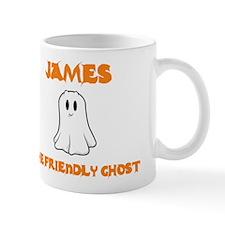 James The Friendly Ghost Mug